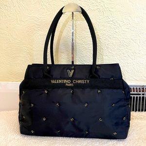 VALENTINO christy paris black shouder bag